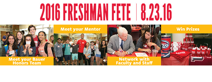 Freshman Fete: Aug. 23