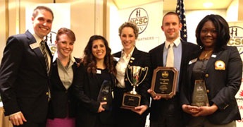 First place at the National Collegiate Sales Competition