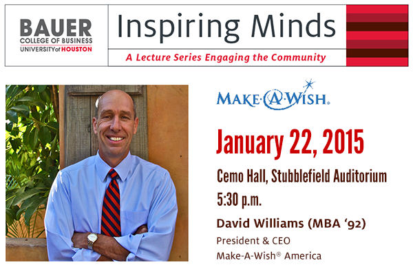 Register to Hear Make-A-Wish America President and CEO on Jan. 22