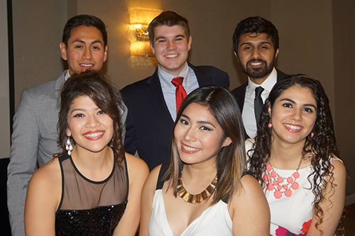 PES Student Executive Board for Fall 2015