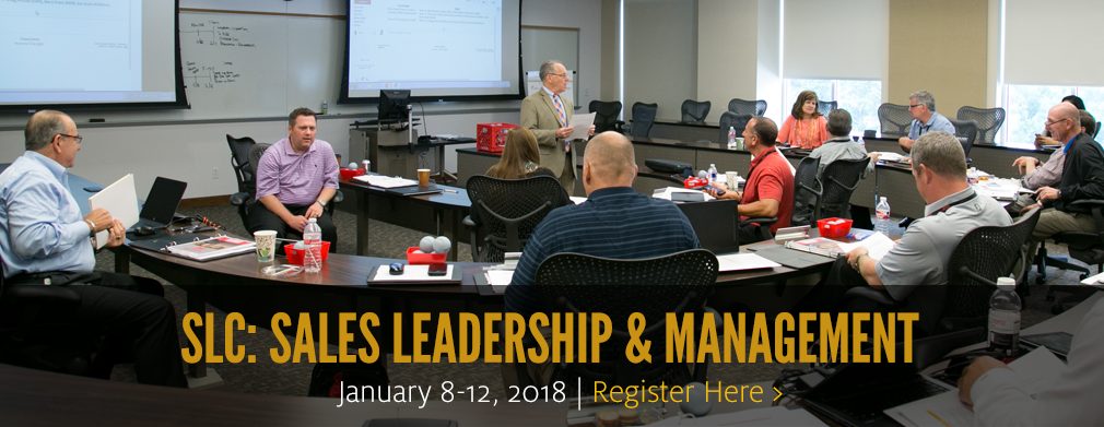 SLC-Sales Leadership and Management: Jan. 8-12
