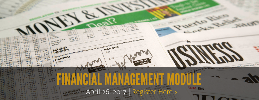 Financial Management Module