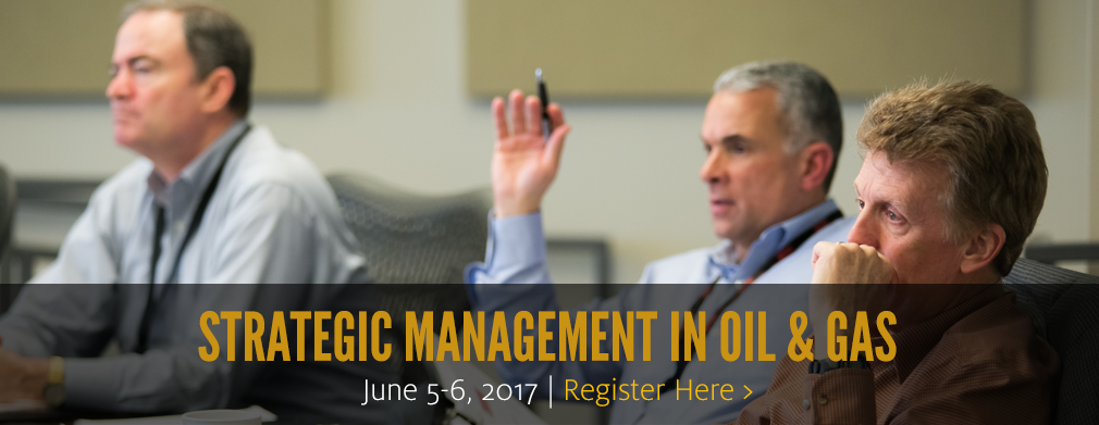 Strategic Management in Oil & Gas