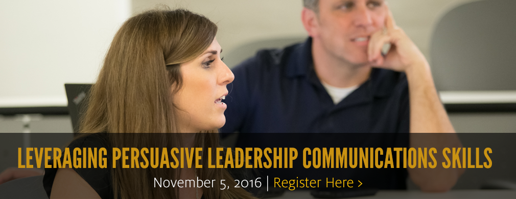 Leveraging Persuasive Leadership