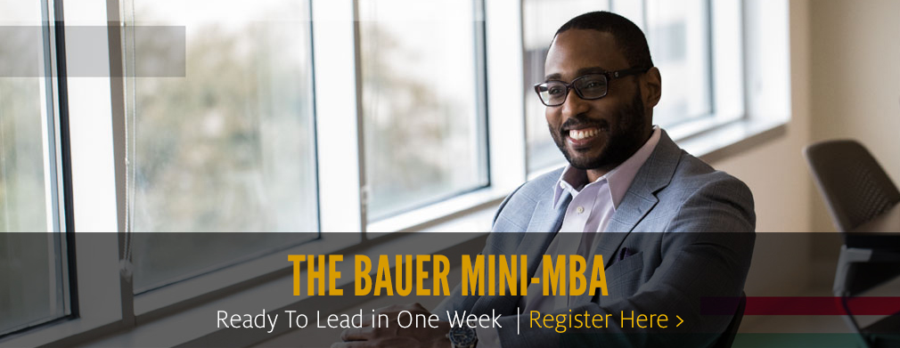 The Bauer Mini-MBA