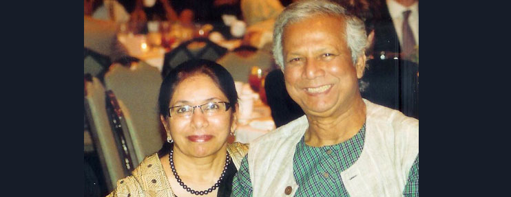 Muhammad Yunus, father of Microfinance