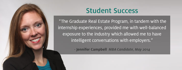 Apply for the Graduate Real Estate Program