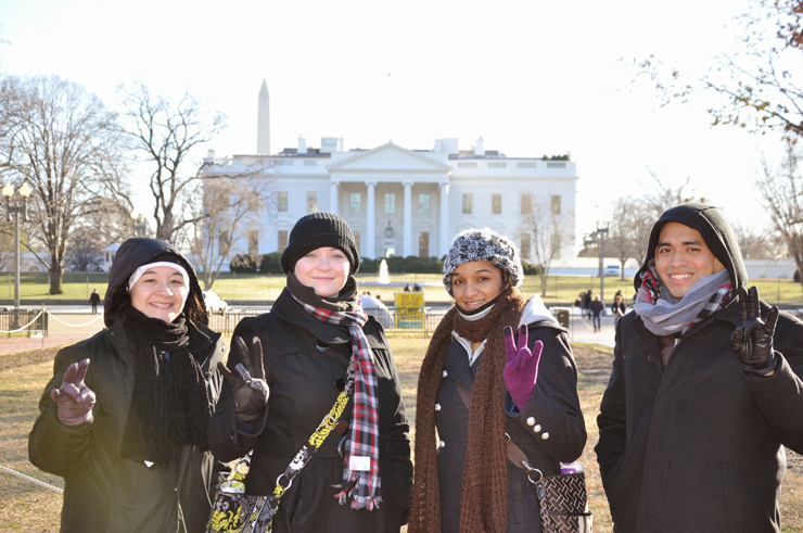 Bauer Students in Washington D.C.