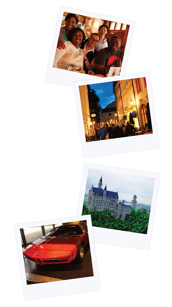 Polaroid Photos: Germany & Prague