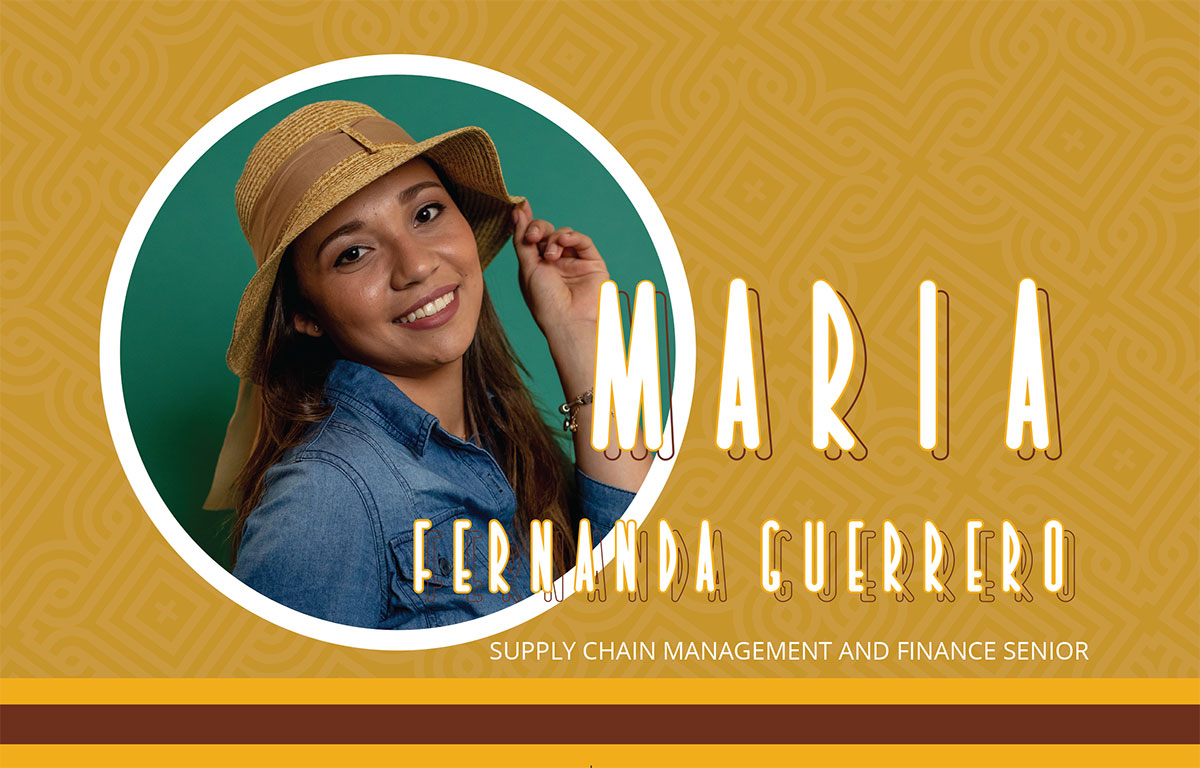 Maria Fernanda Guerrero: Supply Chain Management & Finance Senior