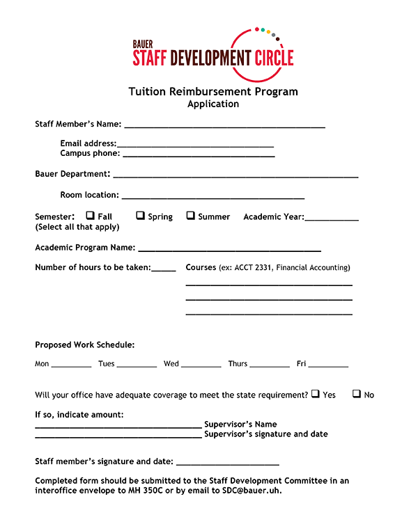 TRP Application Form
